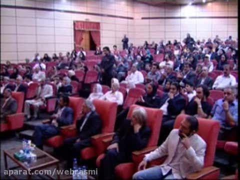 اجرای استند آپ کمدی حسن ریوندی برای بزرگان سینمای کشور