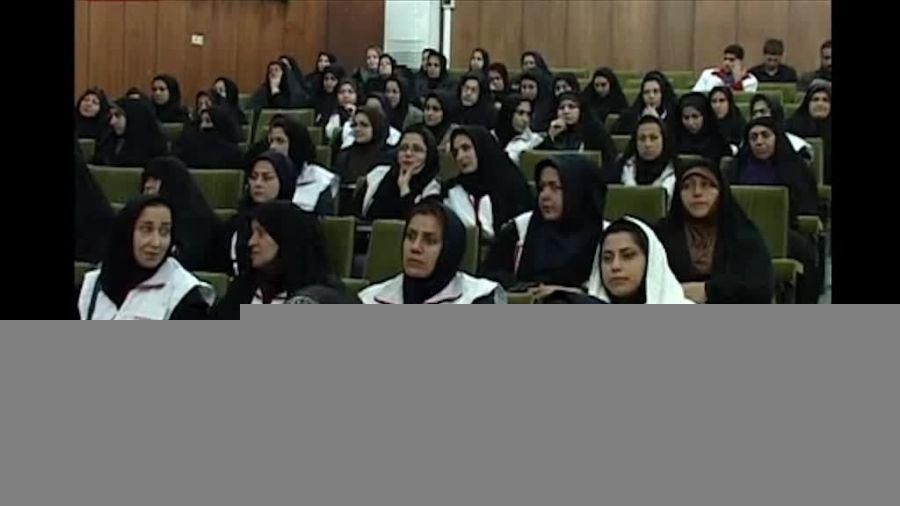 برگزاری  همایش تجلیل از داوطلبان  هلال احمر