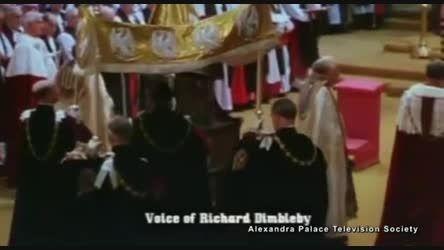مراسم تاجگذاری ملکه انگلیس