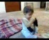 رقص کودک 10 ماهه (نی نی)