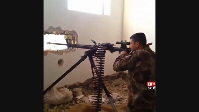 درگیری نیروهای عراق با داعش با سلاح های جدید