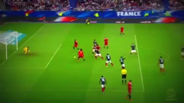 بلژیک 1 - 0 فرانسه (گل اول مروان فلینی)