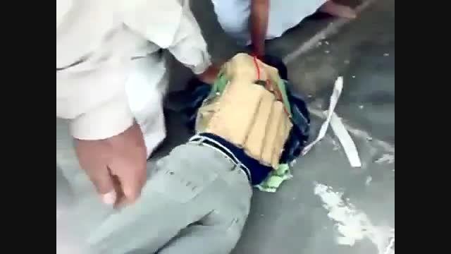 فیلمی از یک داعشی، چند ثانیه قبل از عملیات انتحاری