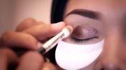 آموزش آرایش ملایم چشمها