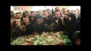 مراسم تشییع جنازه جان باختگان پرواز ایران 140