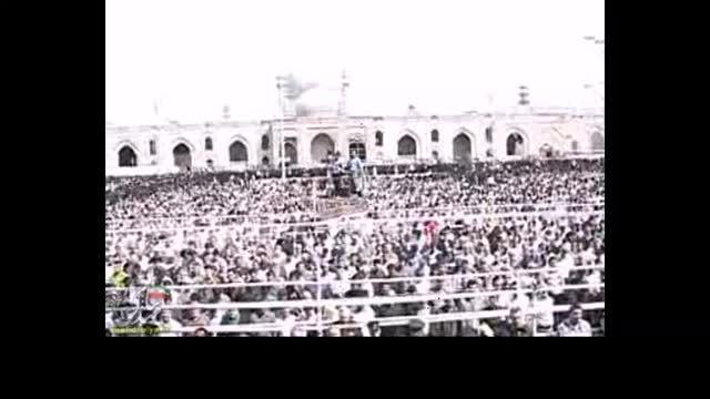 تشییع پیکر جانباختگان فاجعه منا در مشهد مقدس