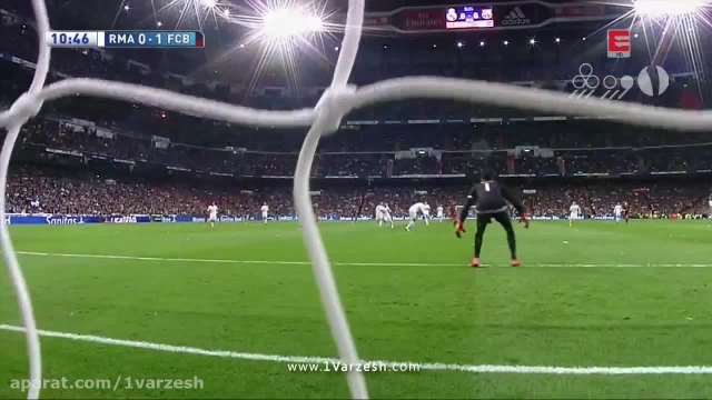 رئال مادرید 0-4 بارسلونا / شبكه و گزارش خارجى / HD