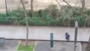 درگیری مسلحانه مردان نقاب پوش در پاریس (18+)