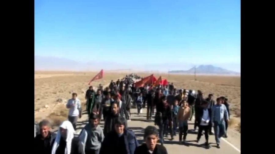 هیئت پیاده روی حضرت رقیه س روستای ده زیار