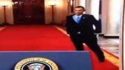عکس العمل جنجالی و بی سابقه اوباما پس از گفتگو با روحانی