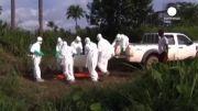 فرار مبتلایان به ابولا از مرکز قرنطینه در لیبریا