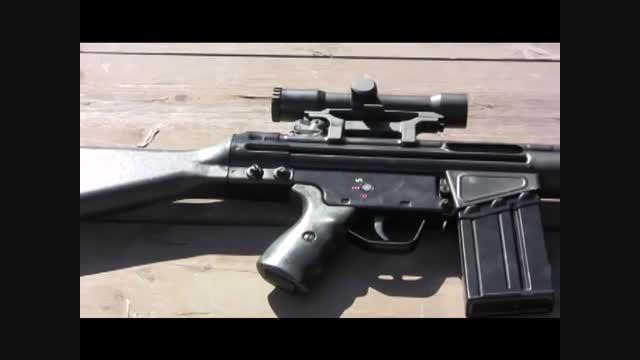 شلیک با اسلحه مرگبار ژ-3