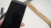 تست ضربه گوشی HTC ONE M8