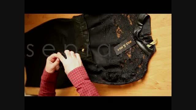 خرید اینترنتی لباس مجلسی حریر