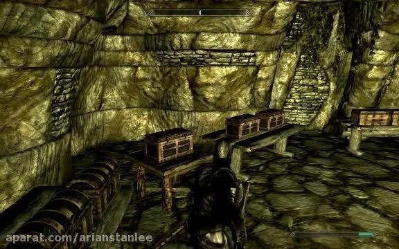 چگونه در skyrim اتاقی که توش همه وسایل هست را پیدا کنیم