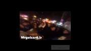 رضاگلزار و افتتاحیه رستوران استریت برگر شرق تهران