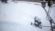 چگونگی تولید برف در ماشین