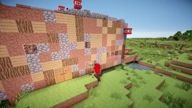 اگر پورتال TNT وجود داشت | Minecraft