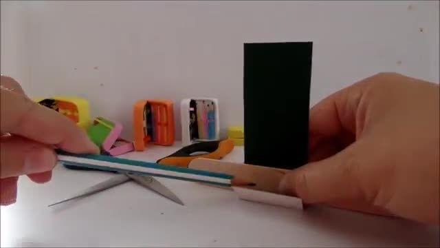 ساخت وسایل جامدادی و مداد برای باربی
