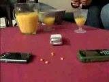 پختن ذرت تنها به وسیله ی چند تا گوشی موبایل!!!