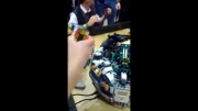 روباتی معرکه برای حل مکعب روبیک