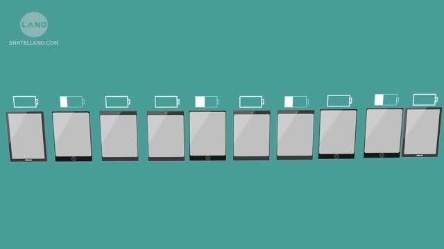 طول عمر باتری کدام تبلت بیشتر است؟ + ویدیوی فارسی