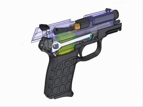 انیمیشن سه بعدی کارکرد اسلحه