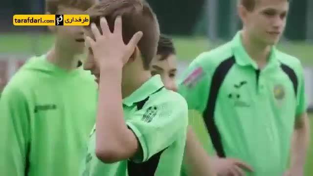 تمرین دادن شــکیری با ظاهری ناشناس به یک تیم جوان
