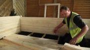 چگونه یک کلبه چوبی درست کنیم