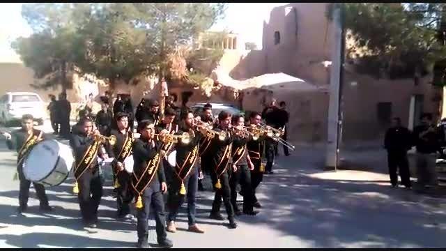 گروه  موزیک و دمام هئیت ابوالفضلی محله قلعه بفرویه میبد