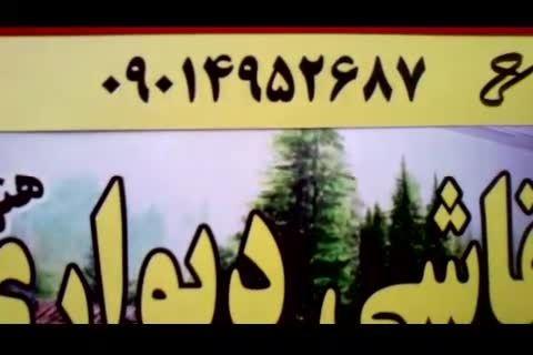 فیلمی زیبا و منحصر بفرد از نقاشی دیواری یک هنرمند