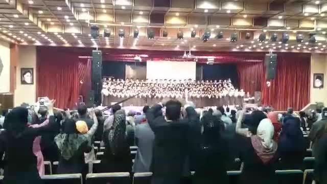 جشن باشکوه فارغ التحصیلی دانشجویان پزشکی اصفهان مهر 87