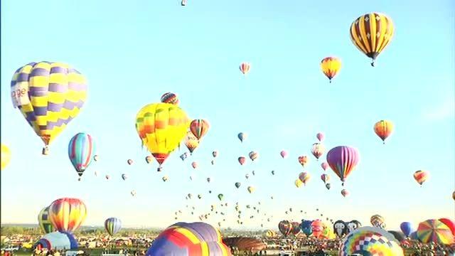 مرحله آخر فستیوال بالن با حضور 500 بالن از 20 کشور