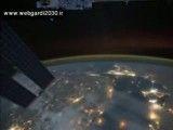 تصویر ماهواره نوید از فضا از خلیخ  همیشه فارس ایرانیان