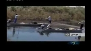 صید برقی ماهی و دستگیری صیادان!