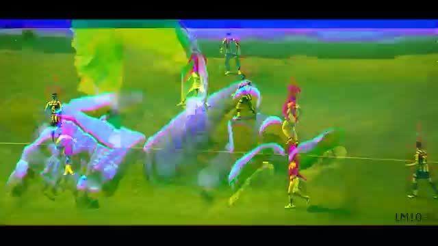 مسی و نیمار ■ دریبل های دیوانه وار ■ 2015 ■ آهنگ توپ