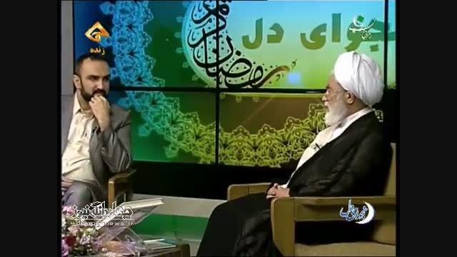 حضور امام جمعه چهاردانگه در برنامه ویژه سحر