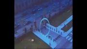 لحظه حمله مهاجم مسلح به ساختمان پارلمان کانادا...!
