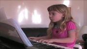 پیانو  برای همه - کودک 7 ساله