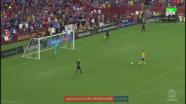 ضربات پنالتی : بارسلونا 2 (2) - (4) 2 چلسی (دوستانه)