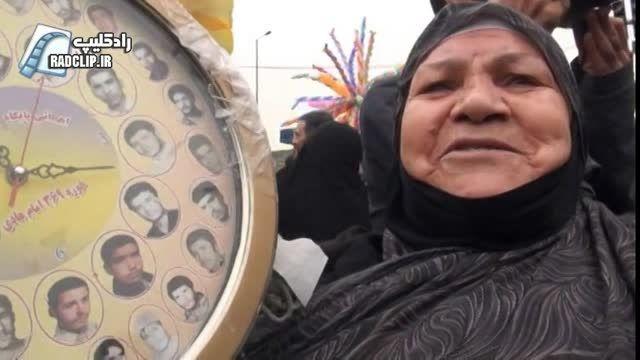 گزارش ویدئویی فارس از راهپیمایی ۲۲ بهمن در تهران