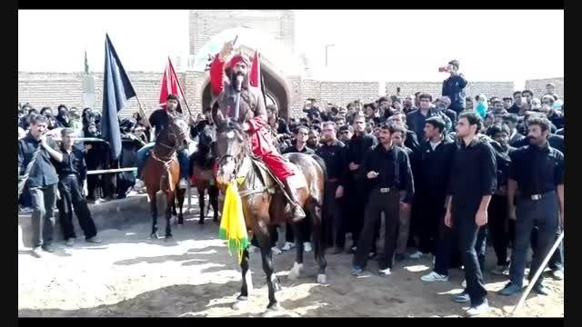 تعزیه حبیب آباد برخوار- ورود شمر بن ذی الجوشن -عاشورا94
