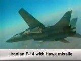 F14ایرانی با موشک زمین به هوای HAWK