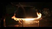 پخت نذری روز سوم عاشورا - شهر مریانج