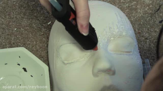 آموزش ساخت نقاب ملکه برفی