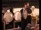 فیلم مراسم جنجالی حمل قران به همراه دف نوازان زن در حضور مشایی