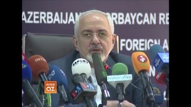 محمد جواد ظریف در باکو