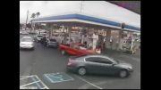 راننده بدجنس عابر را زیر گرفت