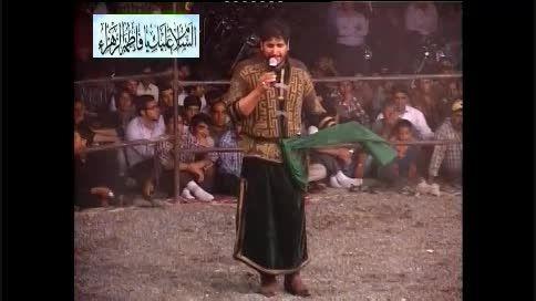 شاهکار استاد شکرا...جعفری ـ شهادت حضرت عباس(ع)«93»