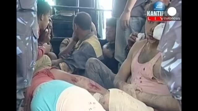 آمار تصاعدی قربانیان نپال